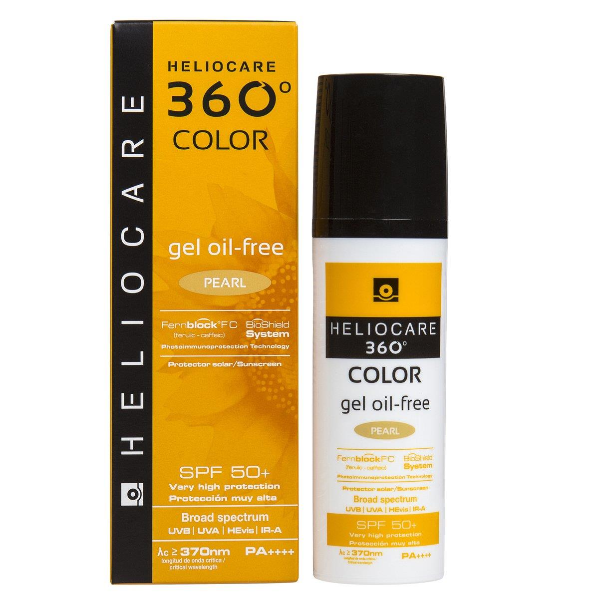 Heliocare 360 Color Gel Oil Free Pearl 50 Ml