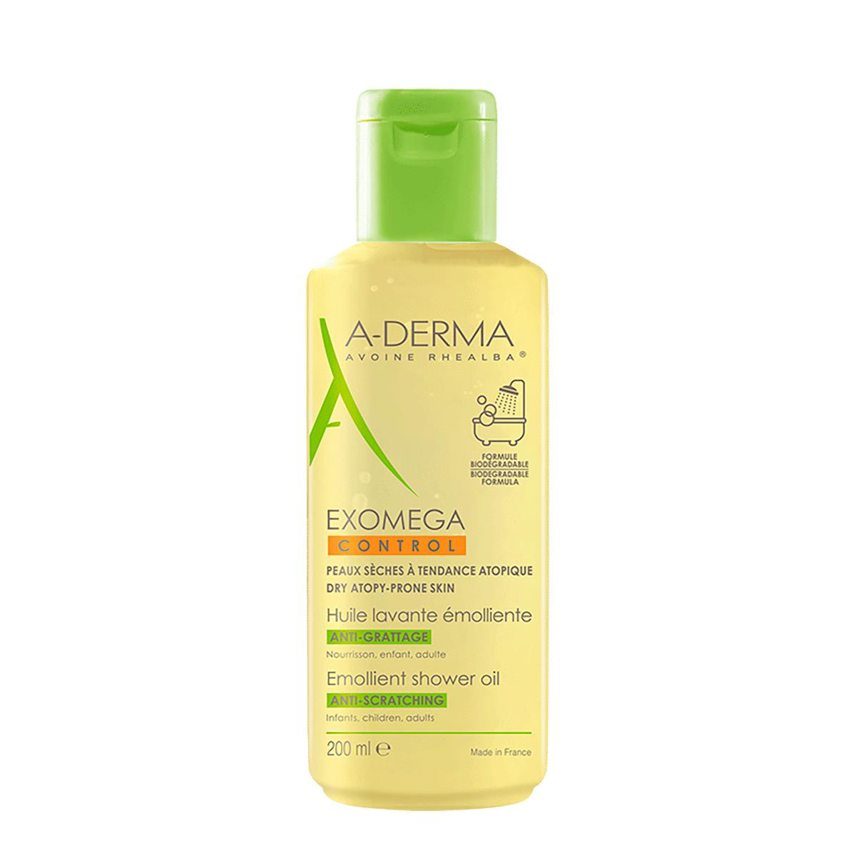 A-Derma Exomega Control Aceite Ducha 200Ml