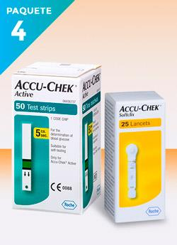 lancetas para glucometro accu chek active precio-compra segura y envio gratis caja con 50 tiras reactivas y 25 lancetas Sofclix