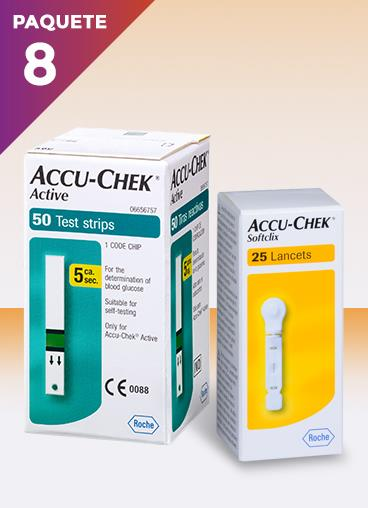 tiras de accu chek active-tienda oficial accu chek