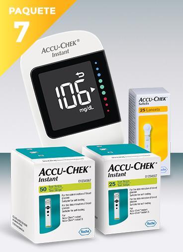 accu chek instant precio mexico envio gratis un glucómetro blanco marca instant con cajas de 50 y 25 tiras reactivas y 25 lancetas