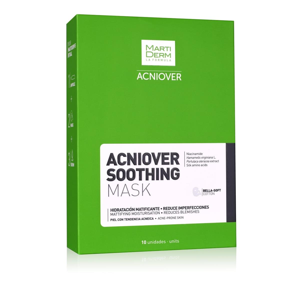 Acniover Soothing Mask, 25Ml C/10 Sobres.