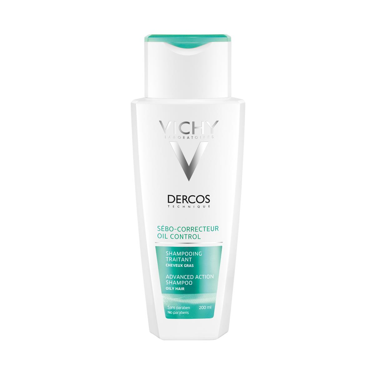 Dercos Shampoo Sebocorrector 200 Ml