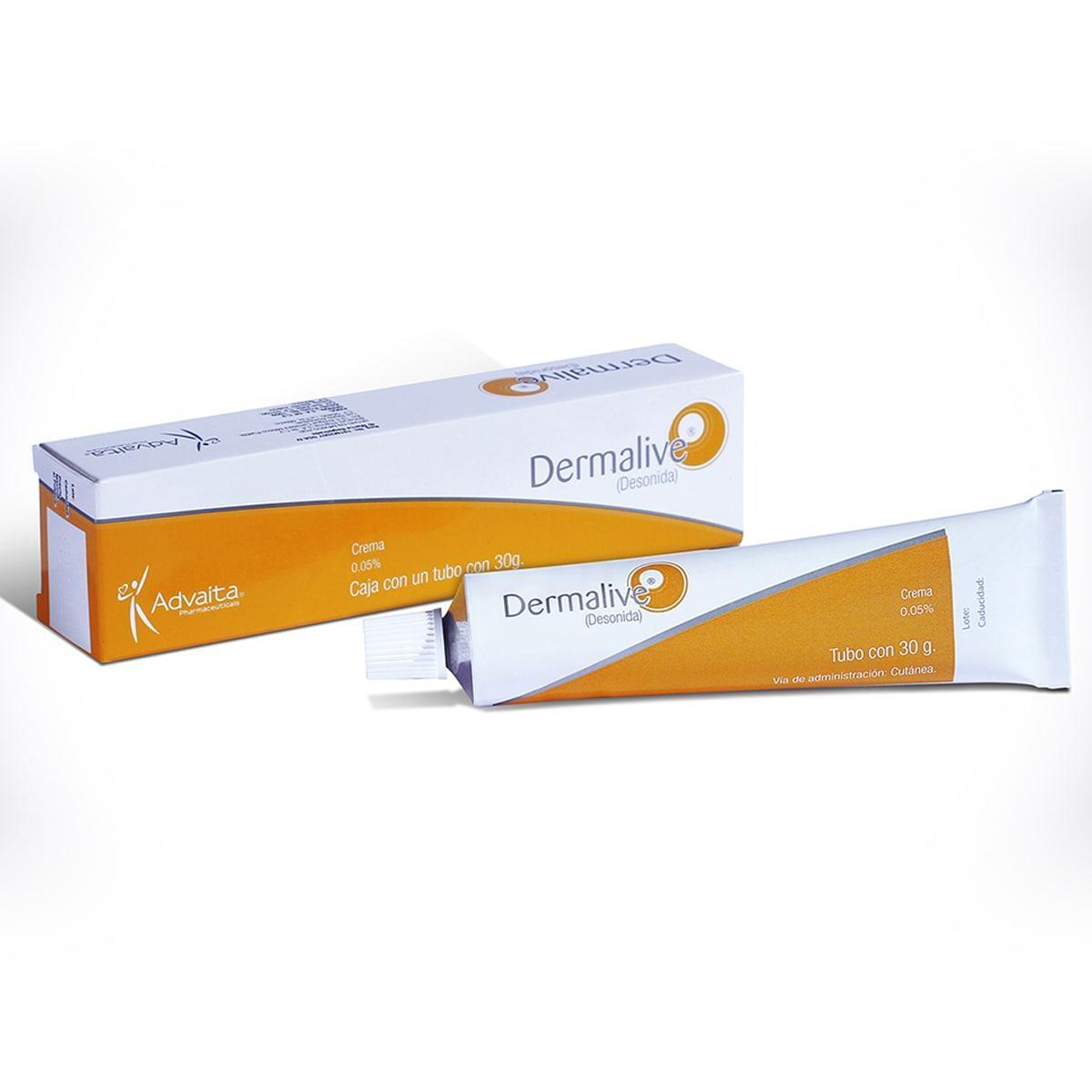 Dermalive Crema Desonida .05% 30 Gr