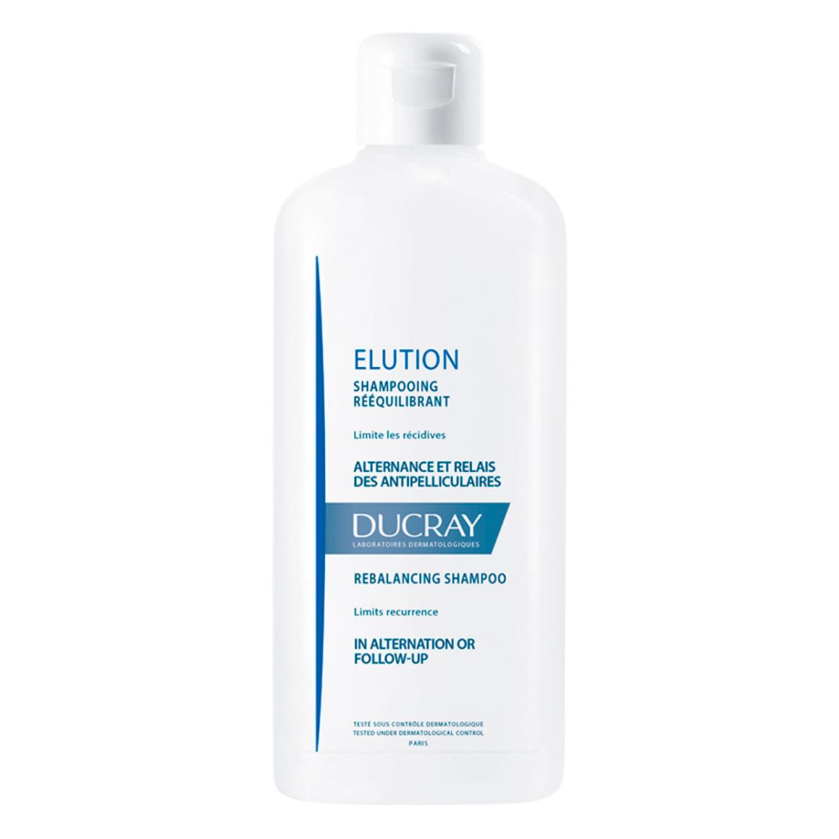 Ducray Elution Shampoo Cuidado De Alternancia Para Caspa 400Ml