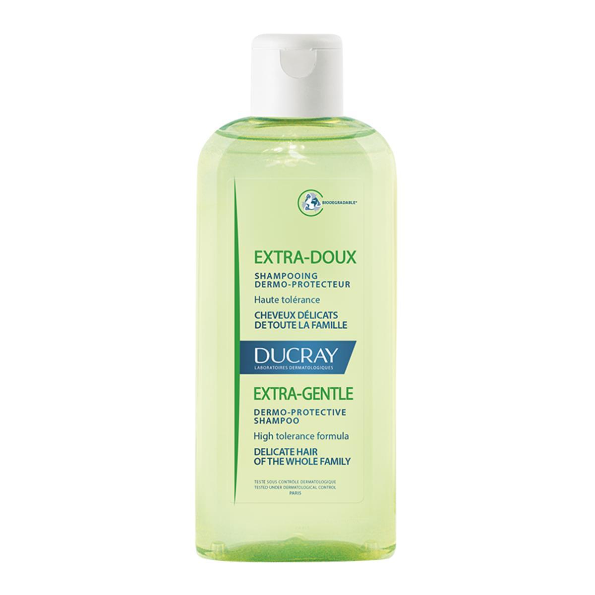 Ducray Extra Suave Shampoo Para Cabello De Normal A Delicado 200Ml