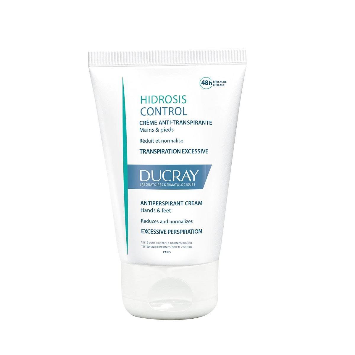 Ducray Hidrosis Control Crema Pies Y Manos 50Ml