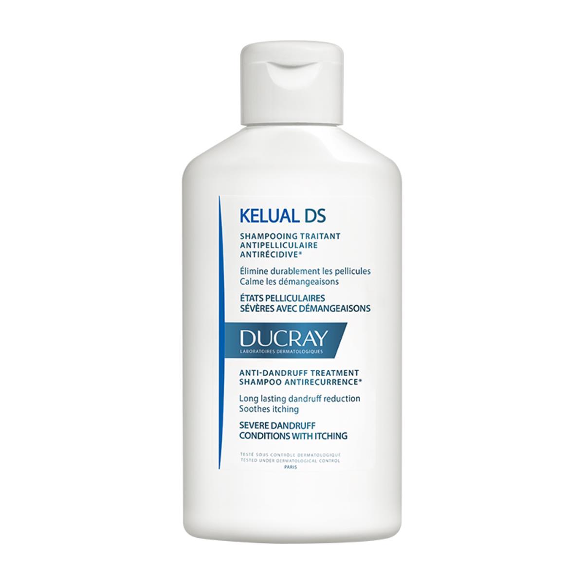 Ducray Kelual Ds Shampoo Cuidado Para Caspa Severa 100 Ml