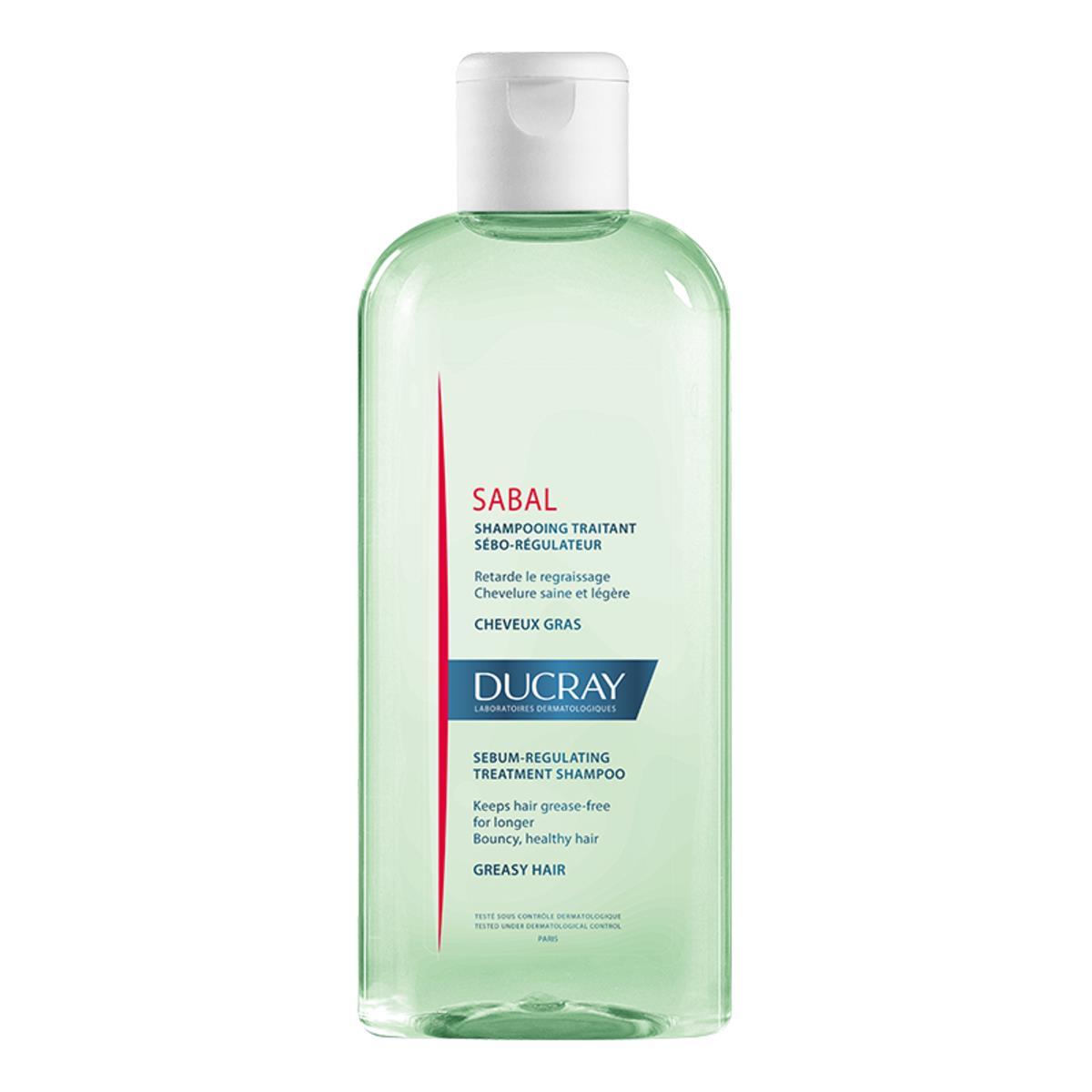 Ducray Sabal Shampoo Seborregulador Para Cabello Graso 200Ml