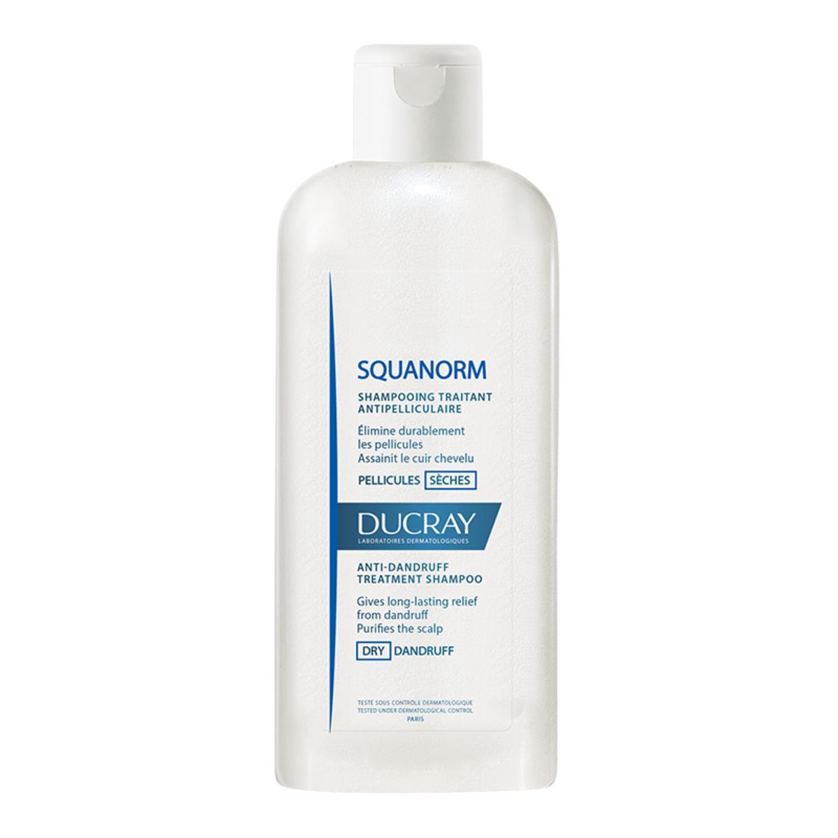 Ducray Squanorm Shampoo Cuidado Para La Caspa Seca 200Ml