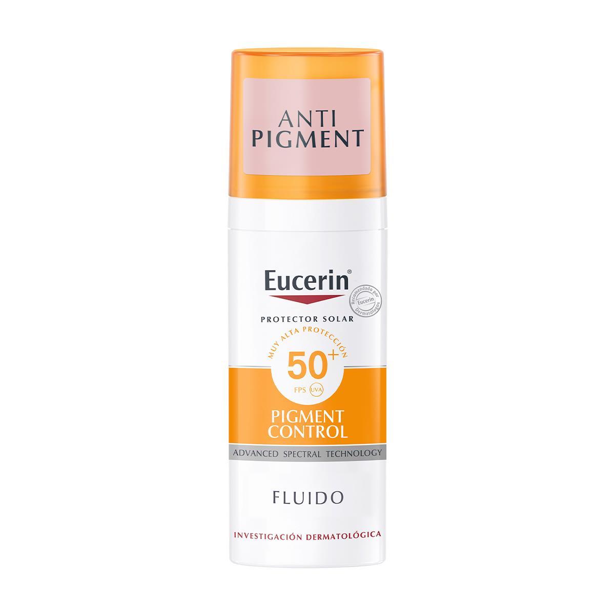 Eucerin Sun Fluid Pigment Control Fps50+ 50Ml