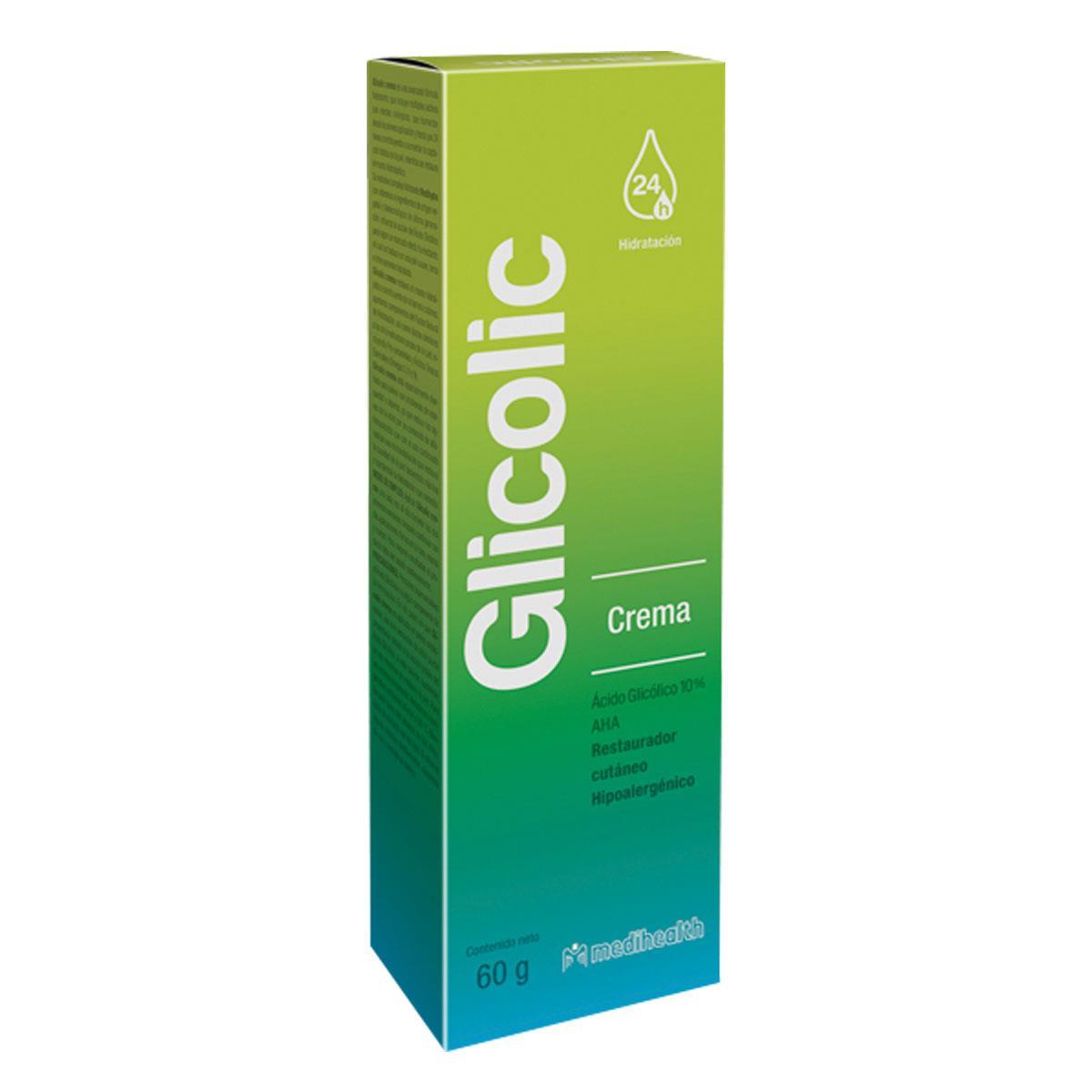 Glicolic Crema Restaurador De Piel 60 G