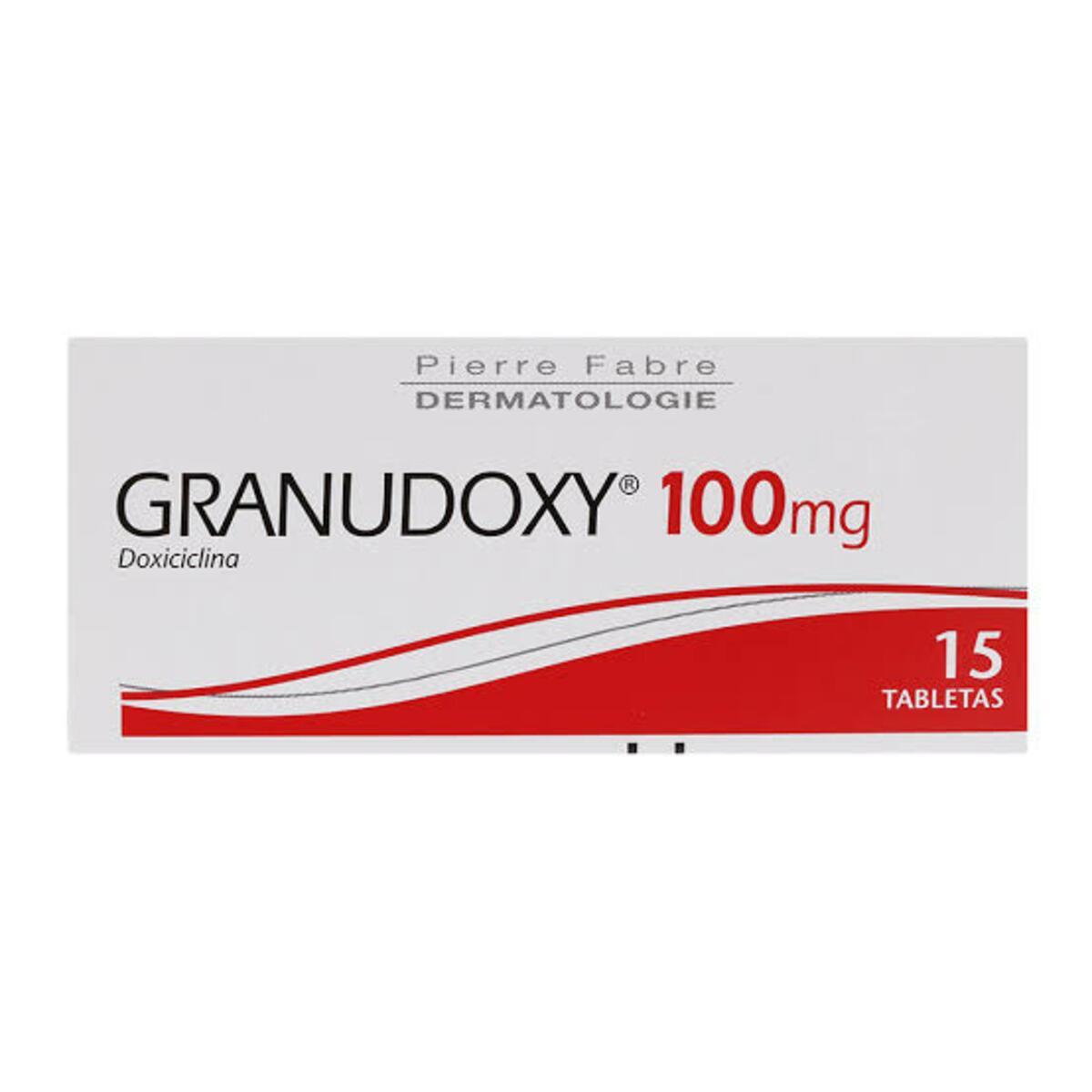 Granudoxy Doxiciclina 100Mg Caja Con 15 Tabletas