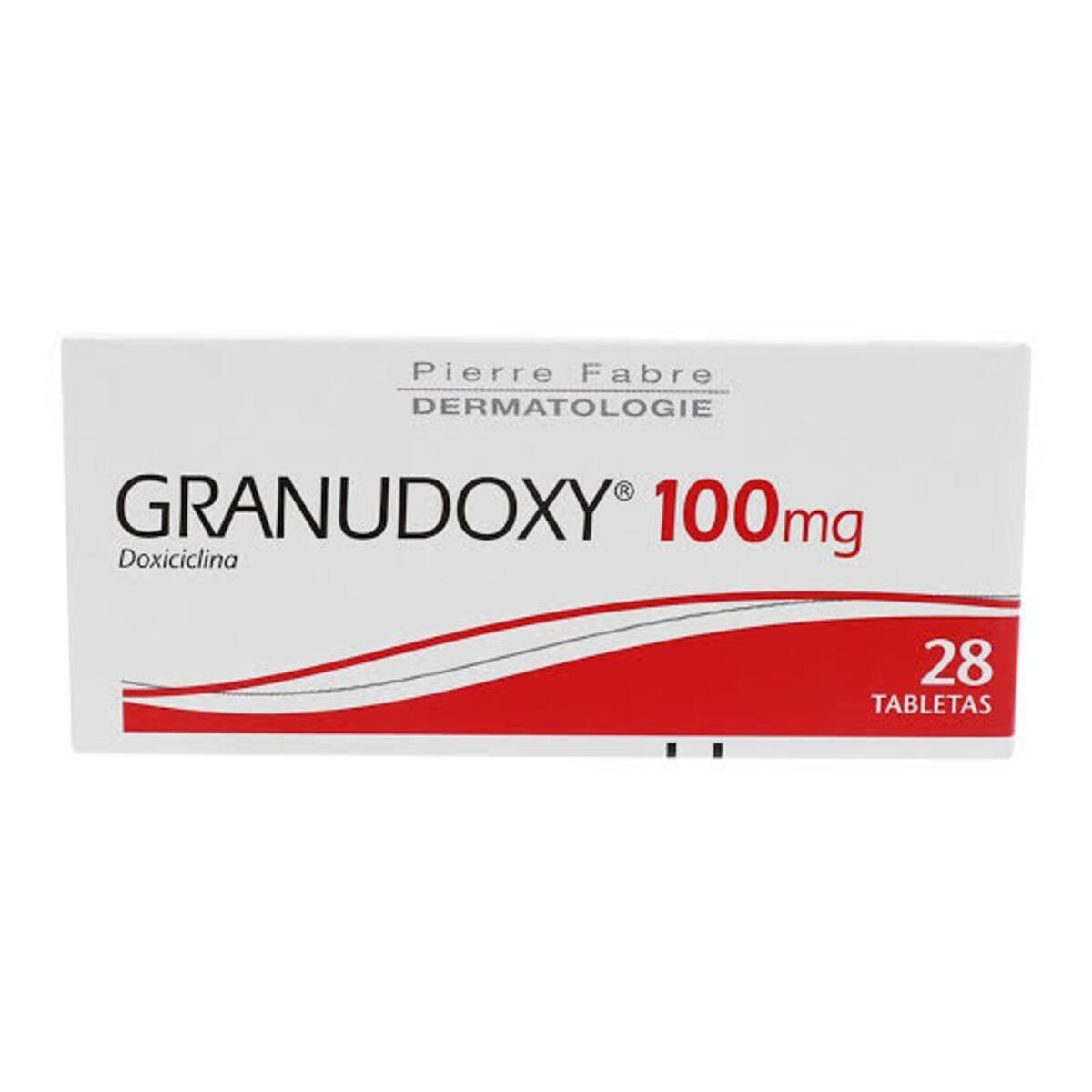 Granudoxy Doxiciclina 100Mg Caja Con 28 Tabletas
