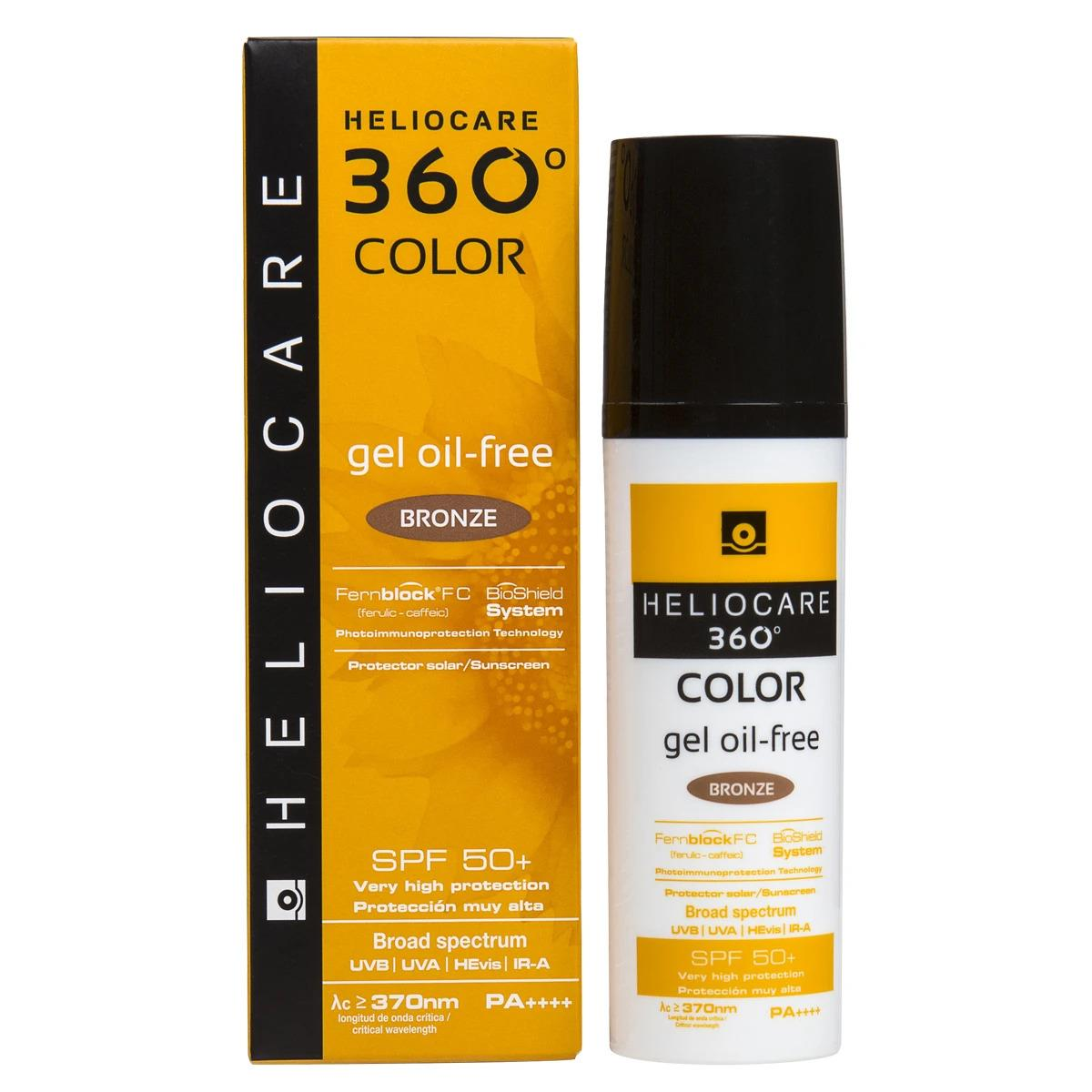 Heliocare 360 Color Gel Oil Free Bronze 50 Ml