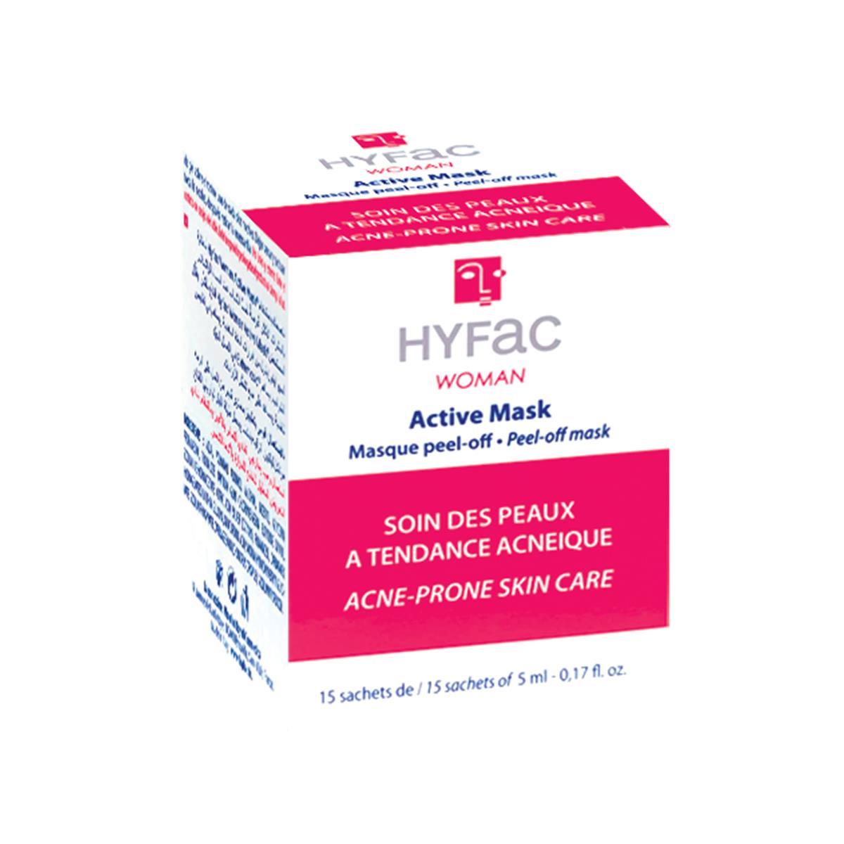 Hyfac Mascarilla Facial Activa 15 Sobres Con 5Ml.