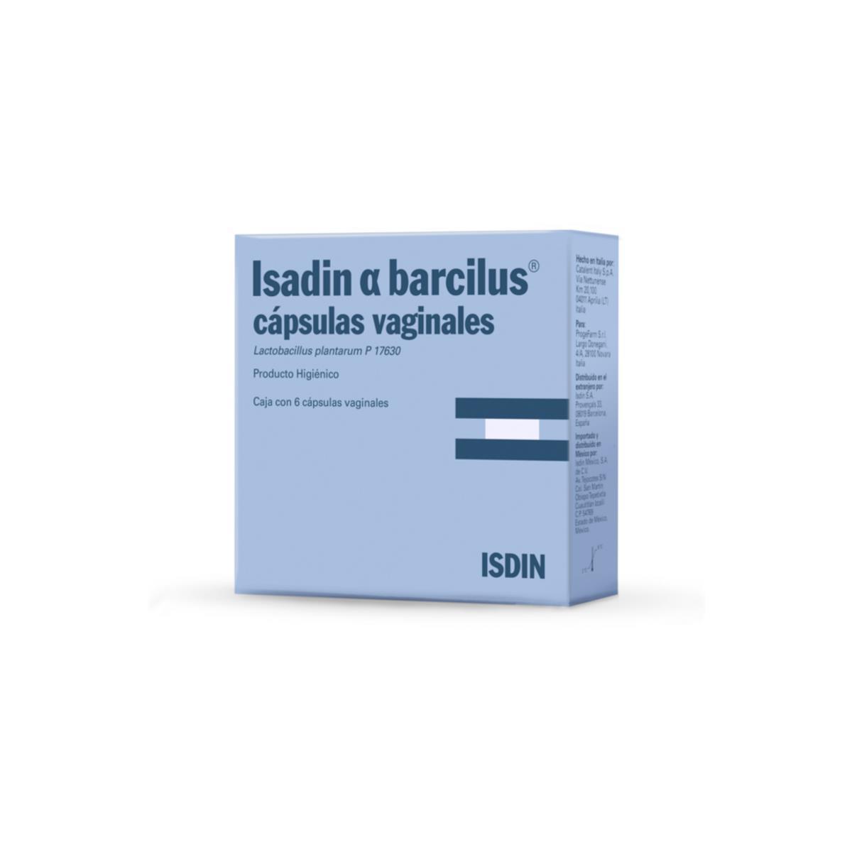 Isadin A Barcilus Capsulas Vaginales
