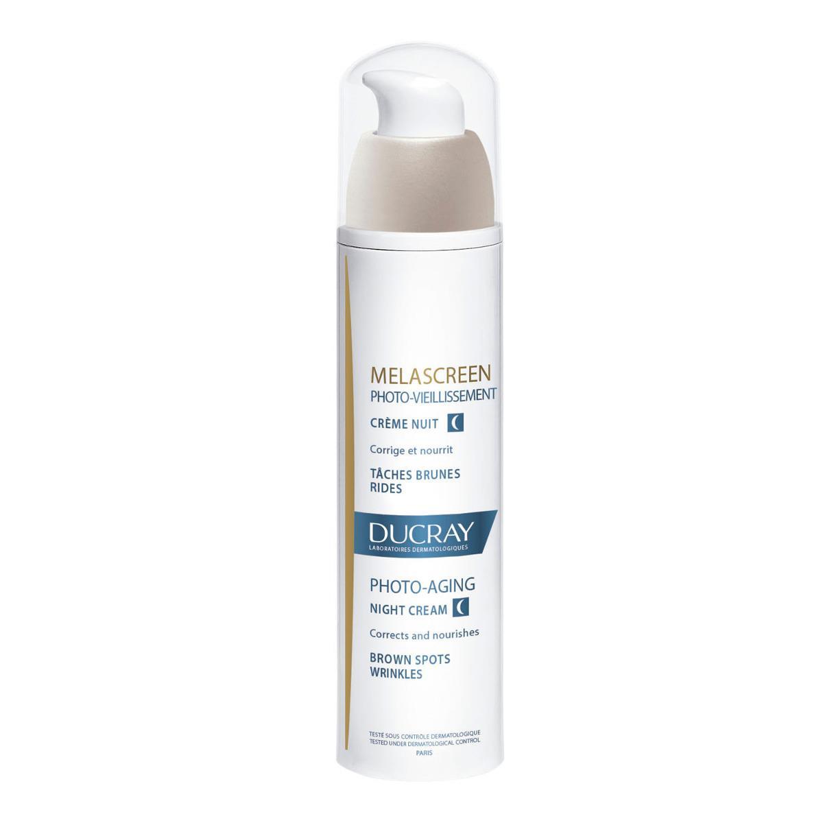 Ducray Melascreen Crema De Noche Para Fotoenvejecimiento Y Anti-Edad 50Ml