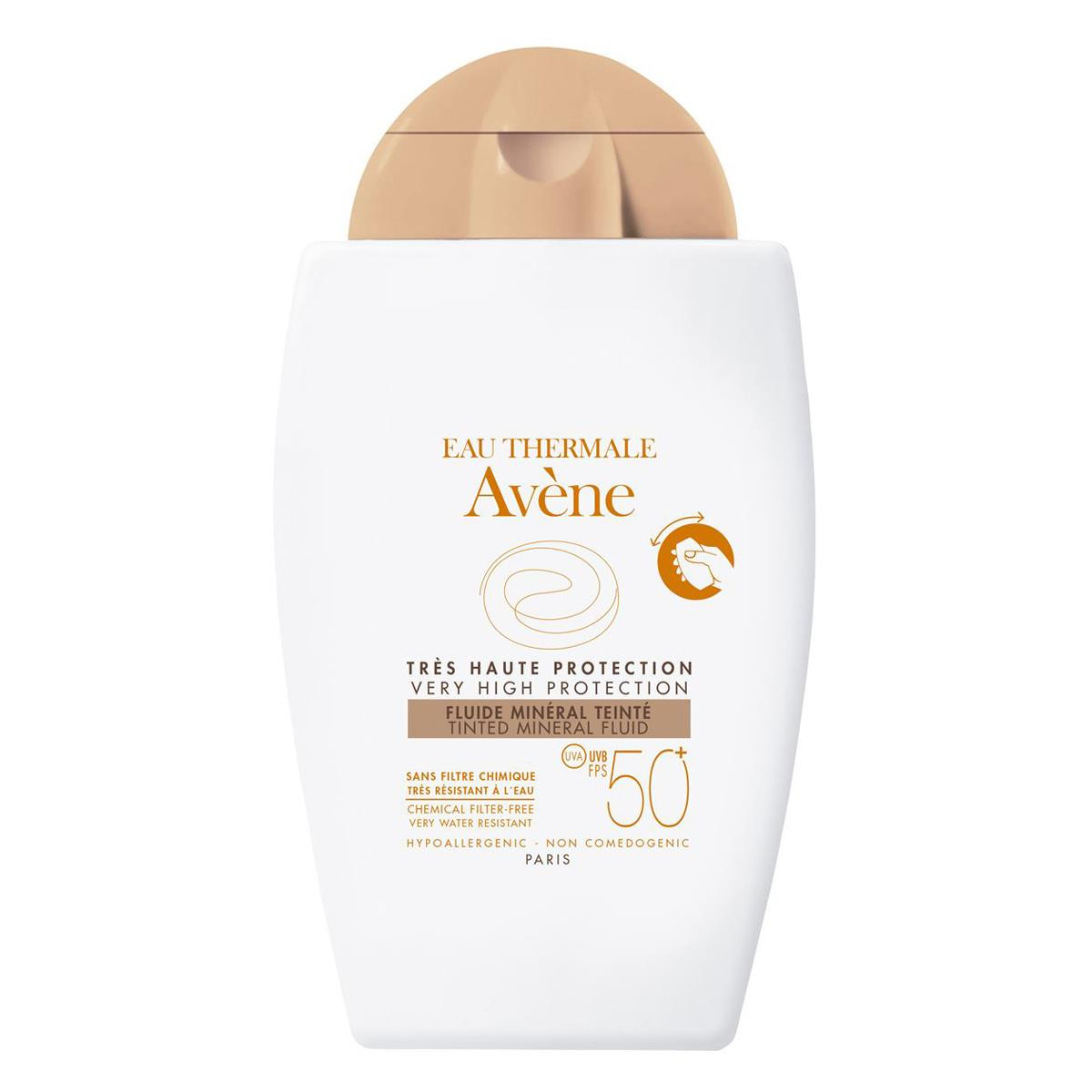 Avene Fluido Mineral Con Color Fps 50+ 40Ml