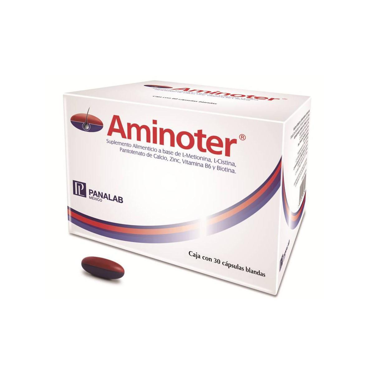 Aminoter Caja 30 Cápsulas