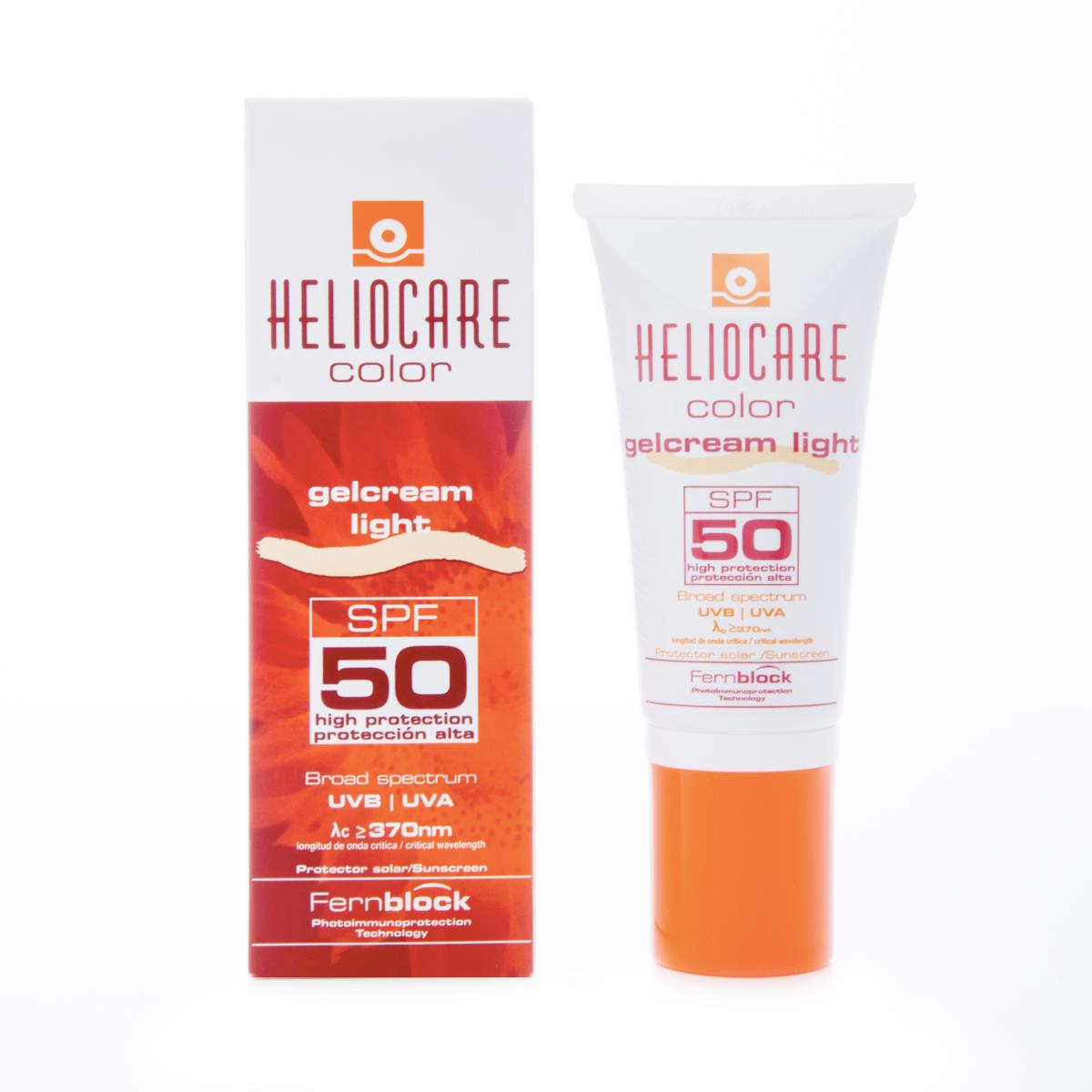 Heliocare Gel Grema Color Light Fps50+ 50 Ml