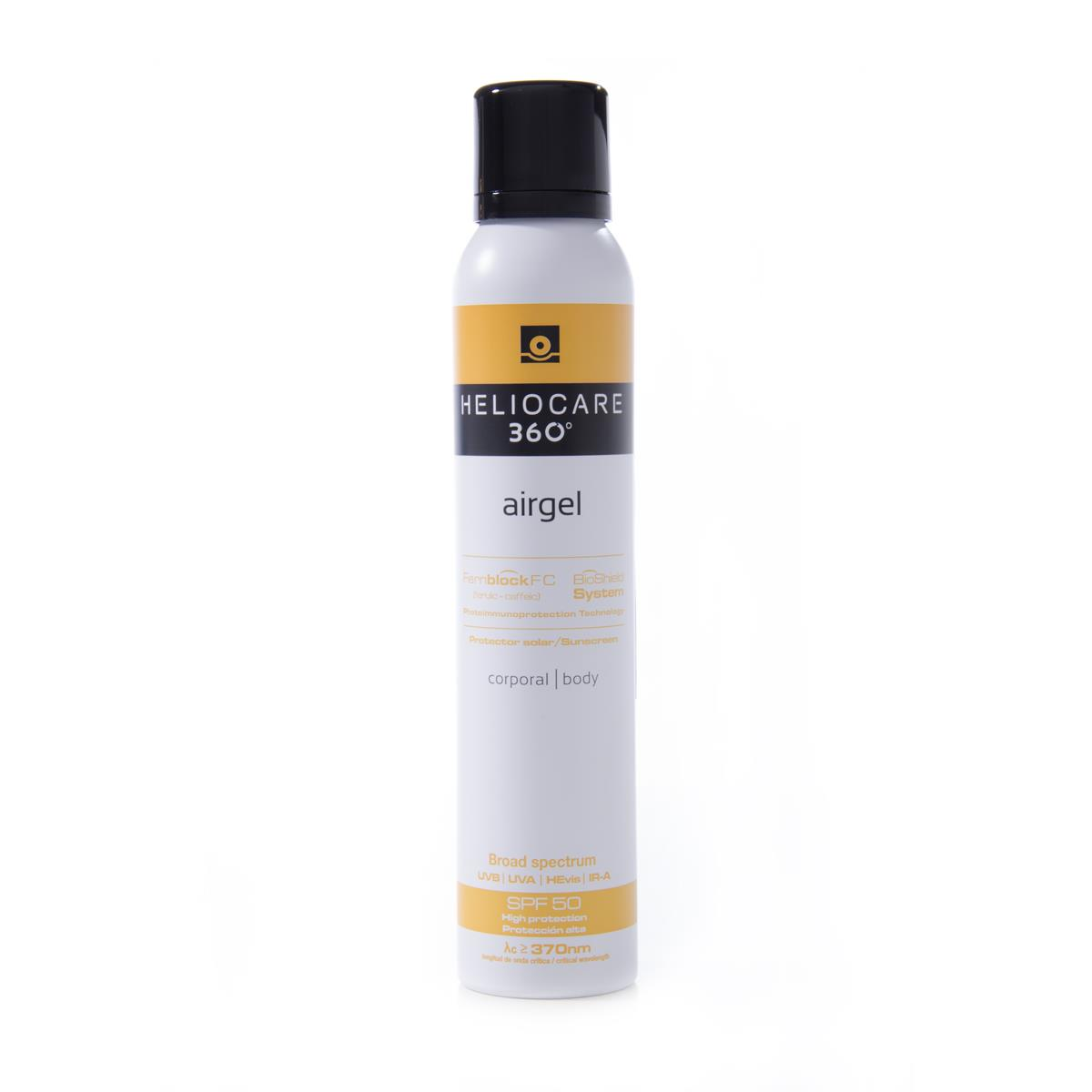 Heliocare 360 Fps 50+ Airgel Corporal 200 Ml