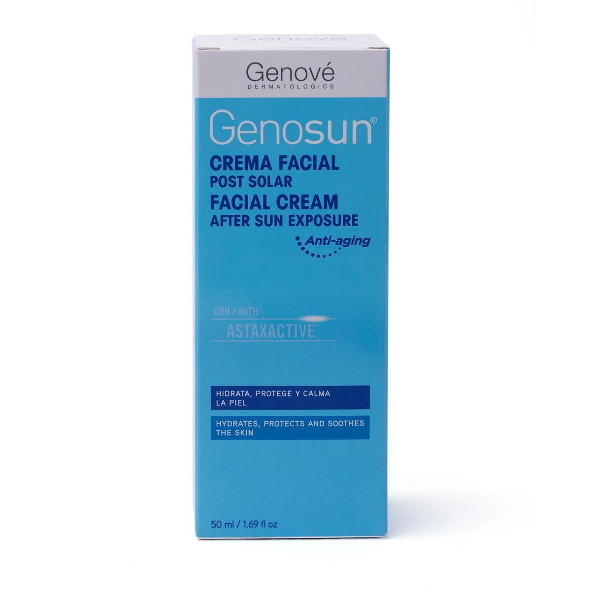 Genove Genosun Crema Facial Post Solar 50Ml