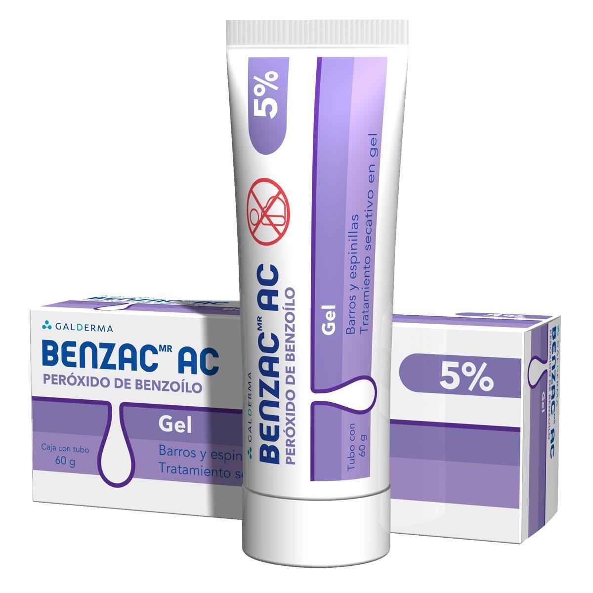 Benzac-Ac Gel 5% 60 Gr