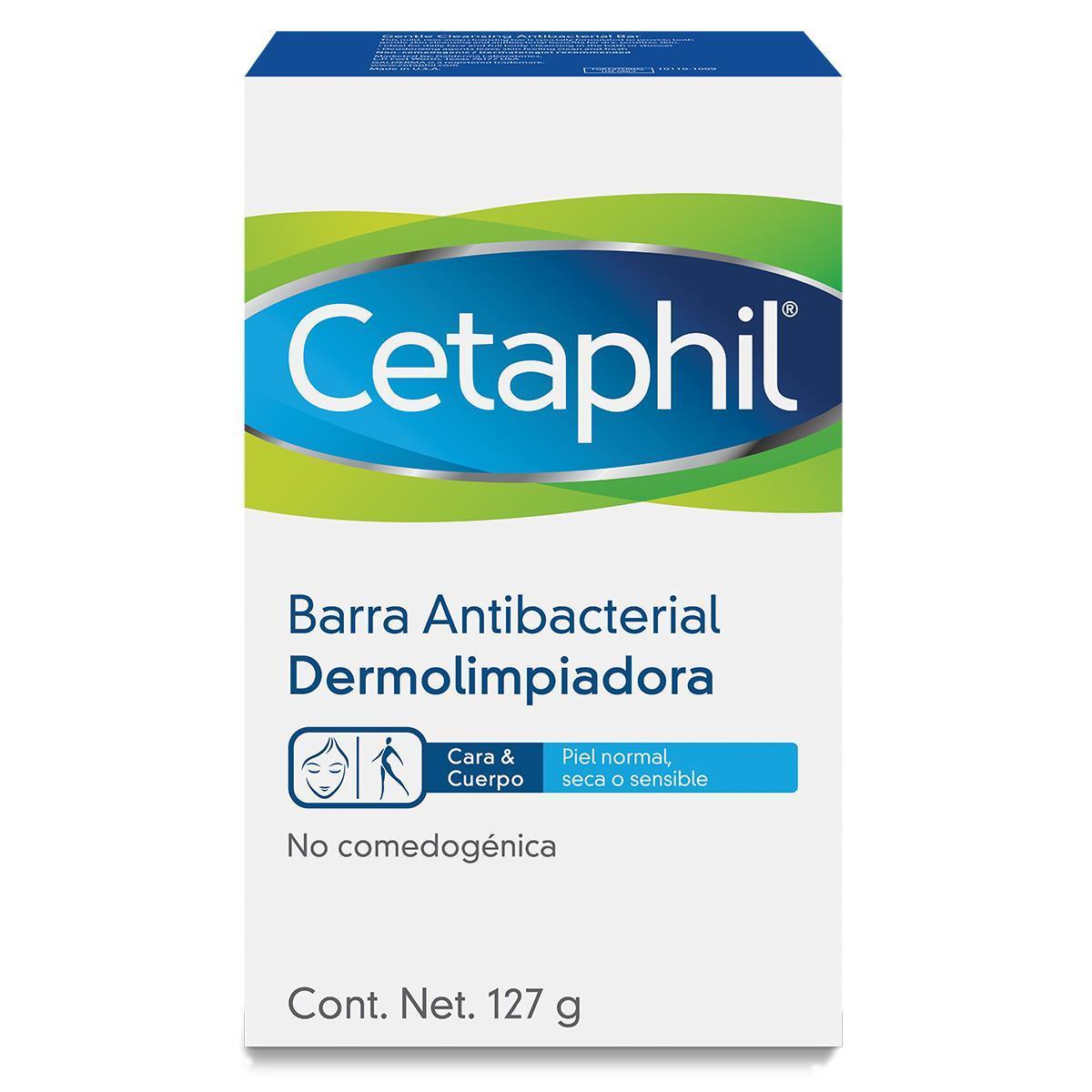 Cetaphil Barra Dermolipiadora Antibacterial 127 Gr