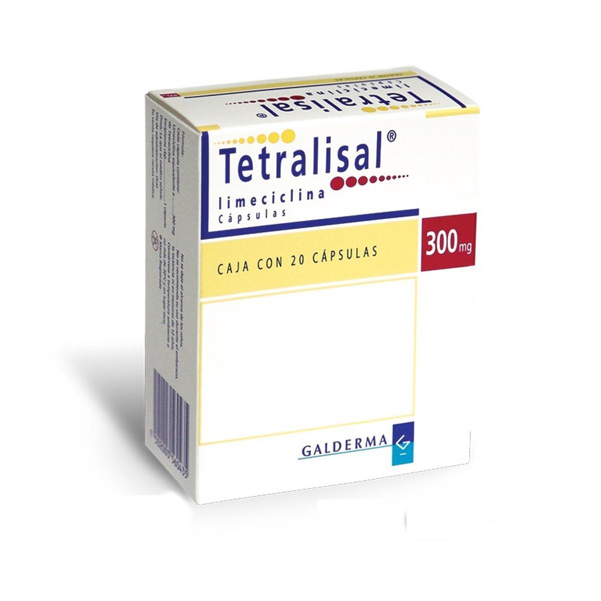Tetralisal 300 Mg 20 Capsulas
