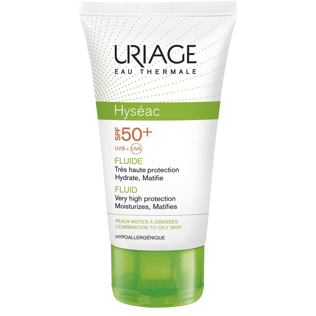 Hyseac Fluide Solaire Spf50 50 Ml