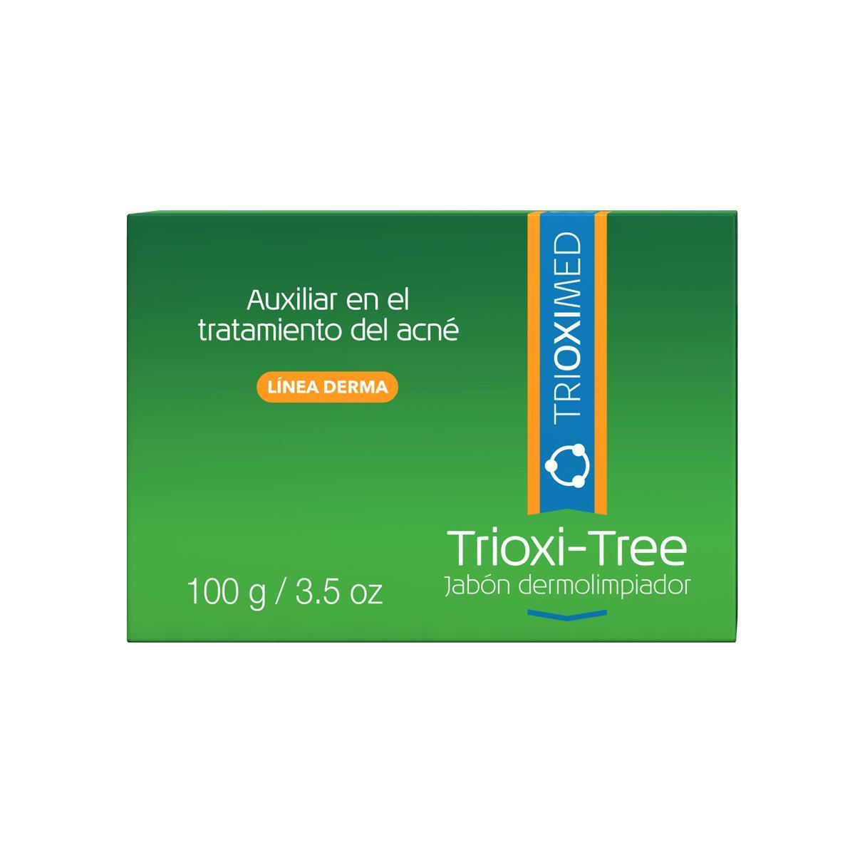 Trioxi-Tree Jabón Dermolimpiador 100G
