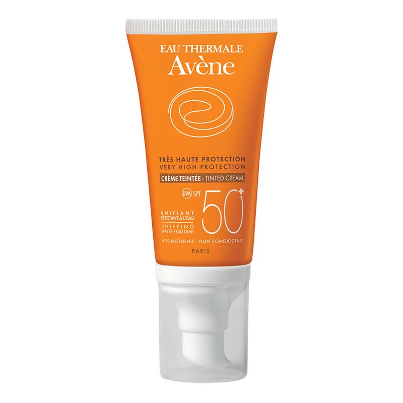 Avene Crema Facial Con Tinte Fps 50+ 50Ml