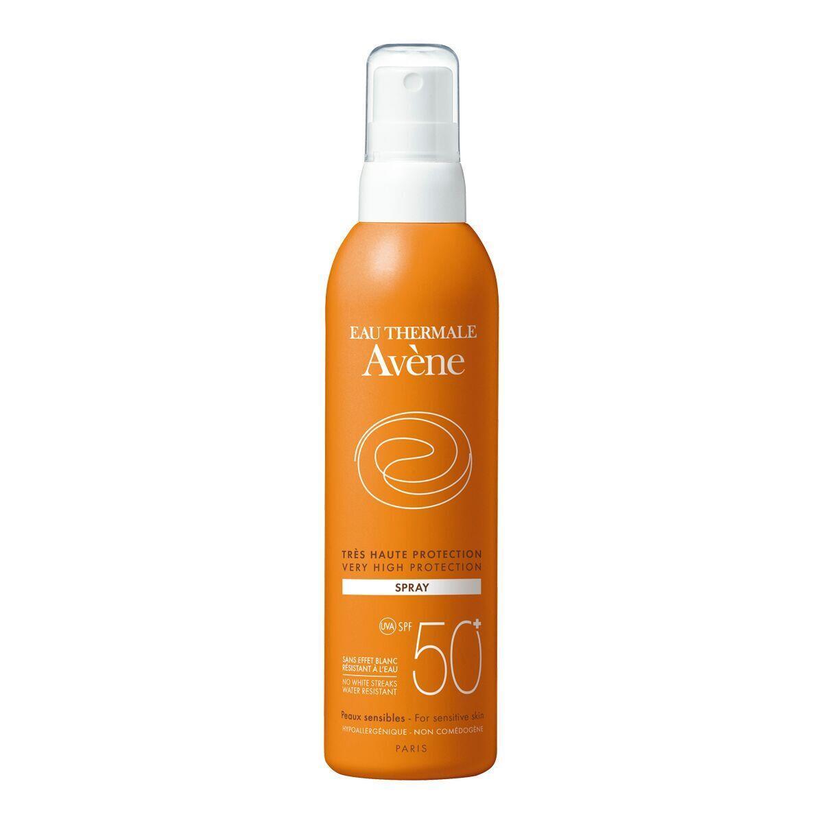 Avene Spray Corporal Fps 50+ 200Ml