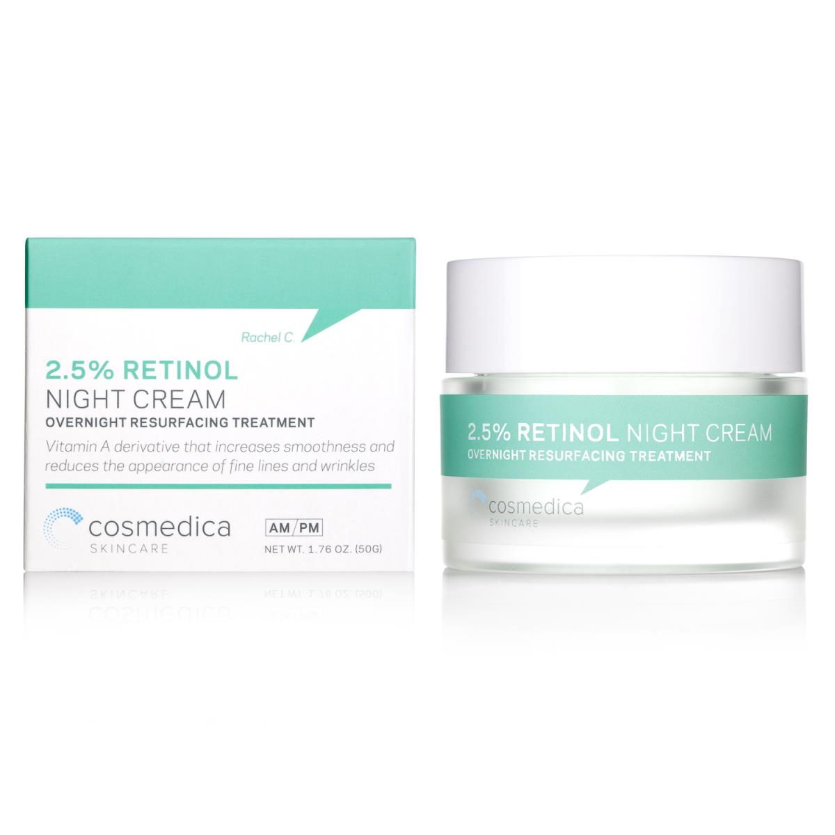 Retinol Cream 2.5% 2Oz / 60Ml