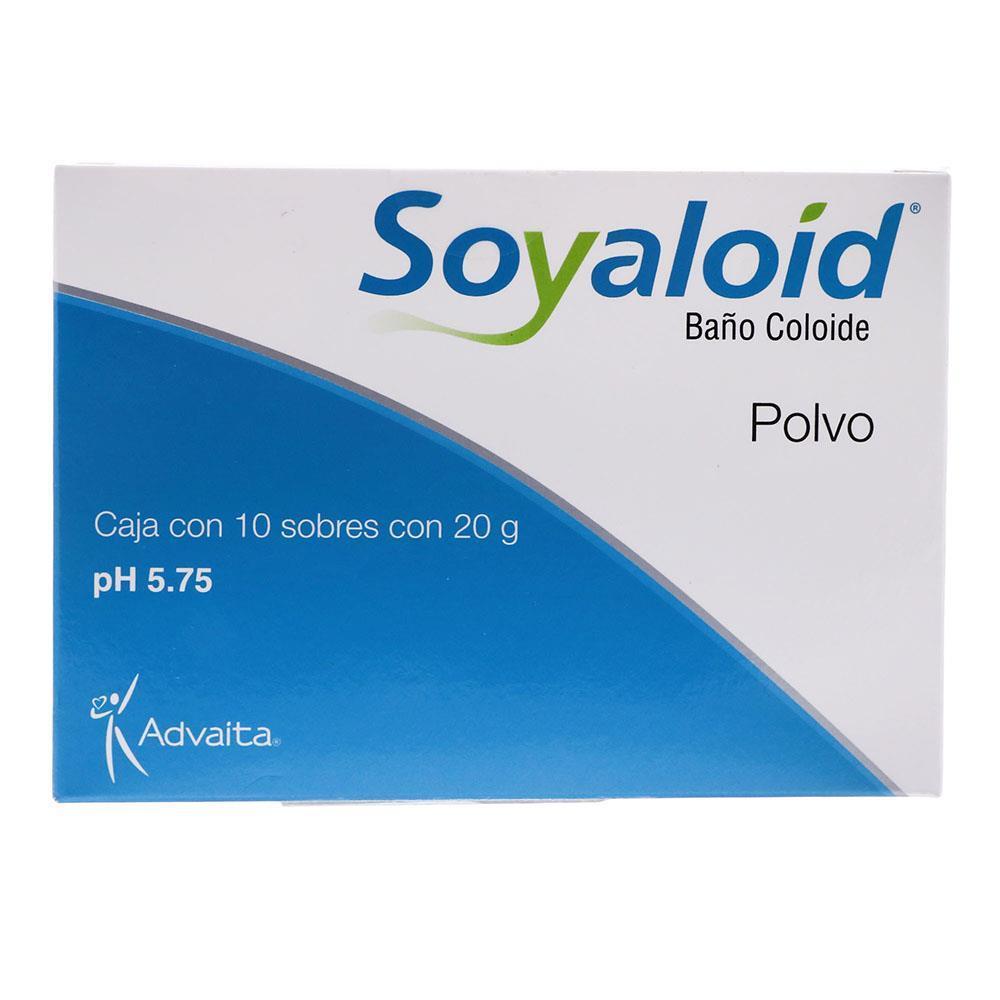 Soyaloid Baño Coloide Polvo Sobres 10X20 Gr