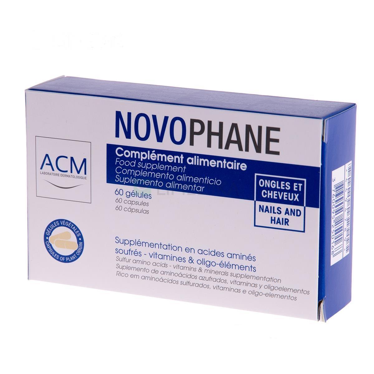 Novophane 60 Cápsulas