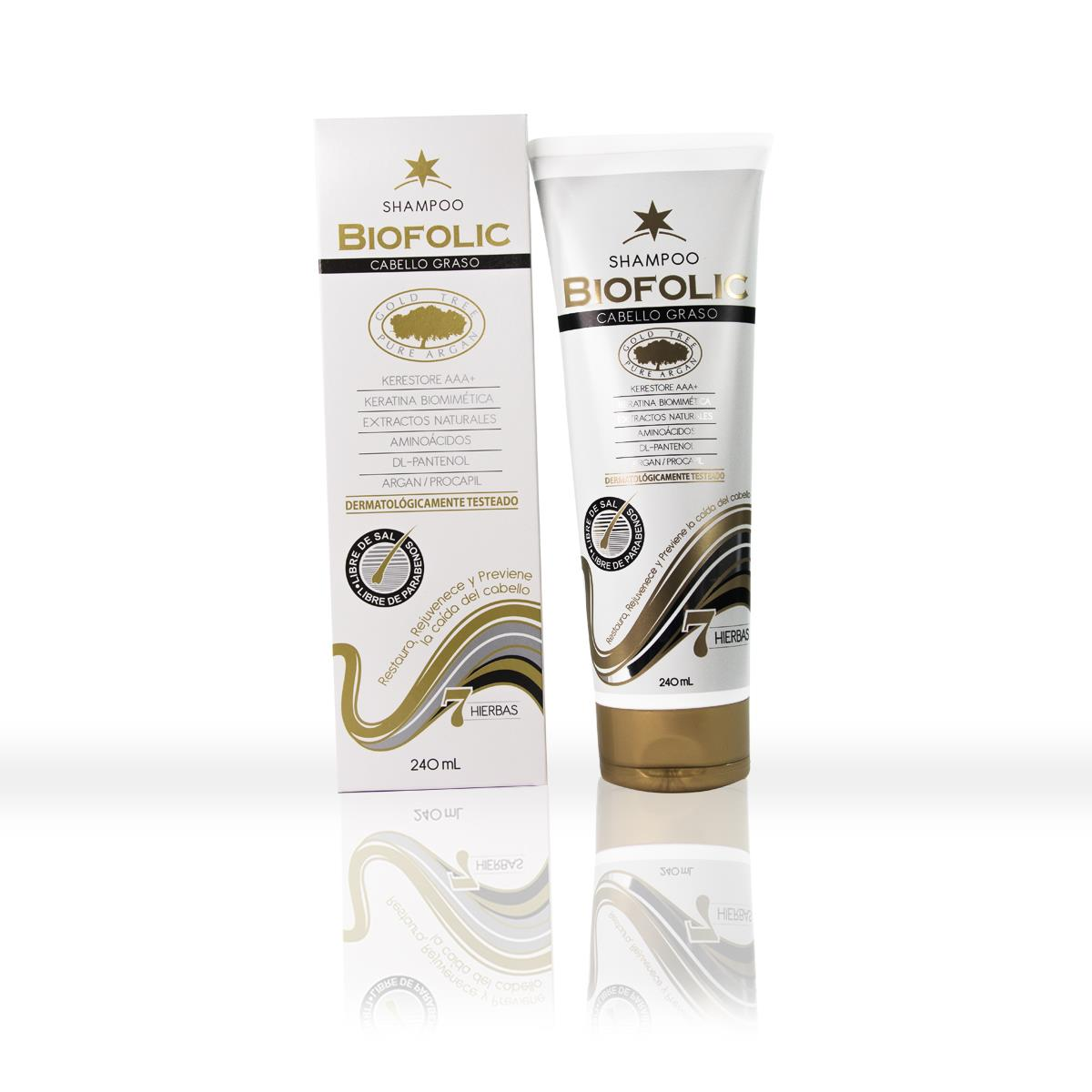 Shampoo Biofolic Graso 240 Ml