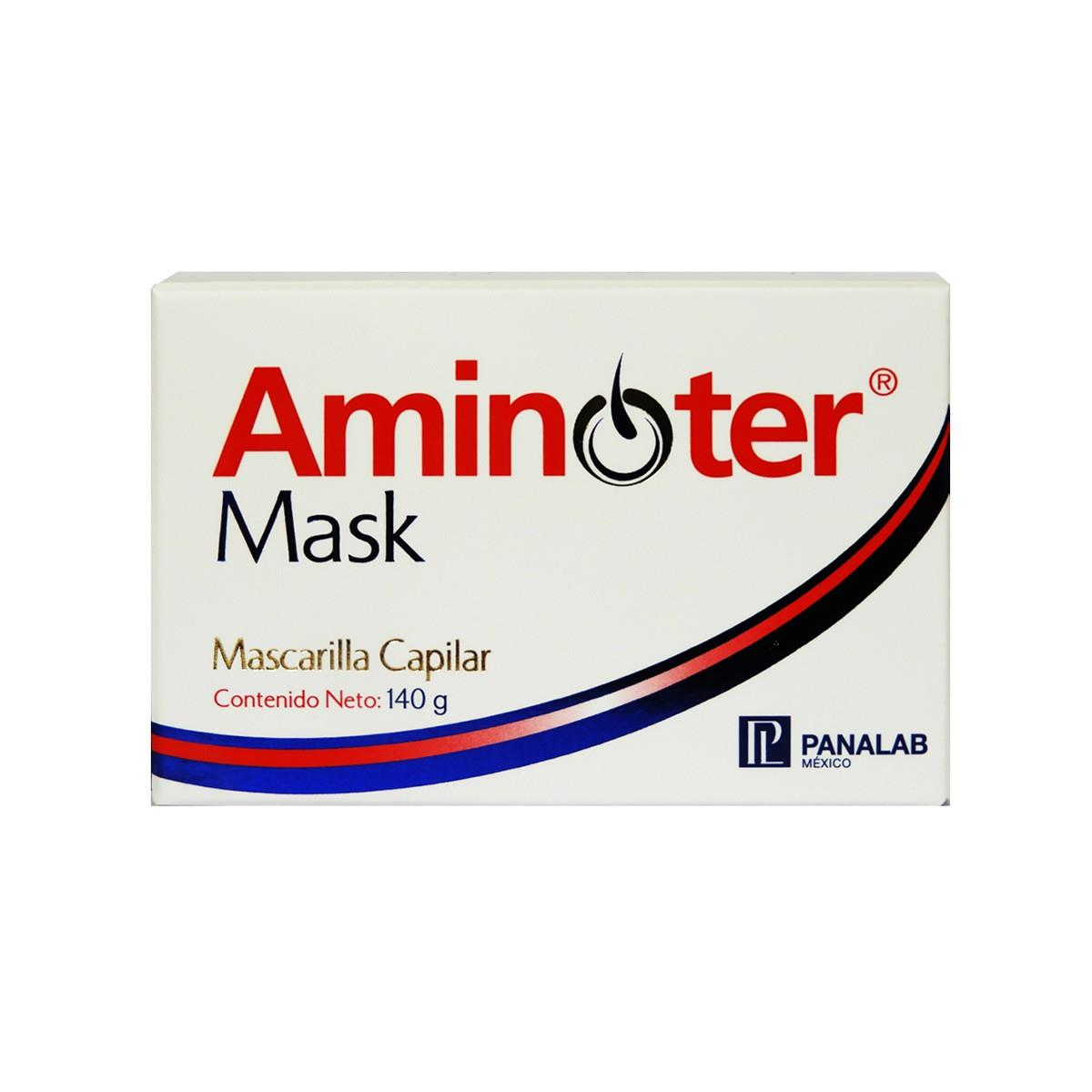 Aminoter Mask, Mascarilla Capilar, Tarro Con 140G