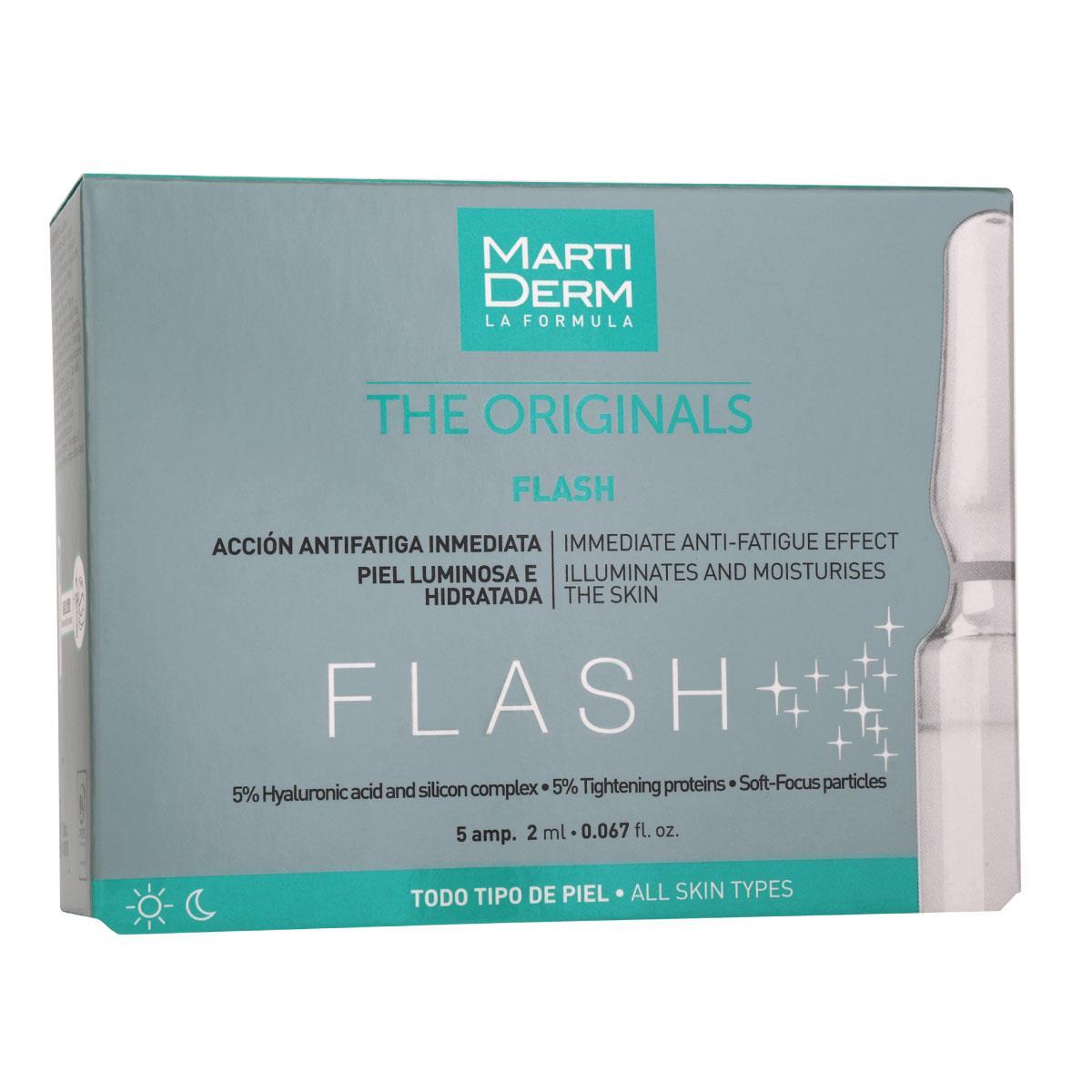 Martiderm Flash Caja Con 5 Ampolletas
