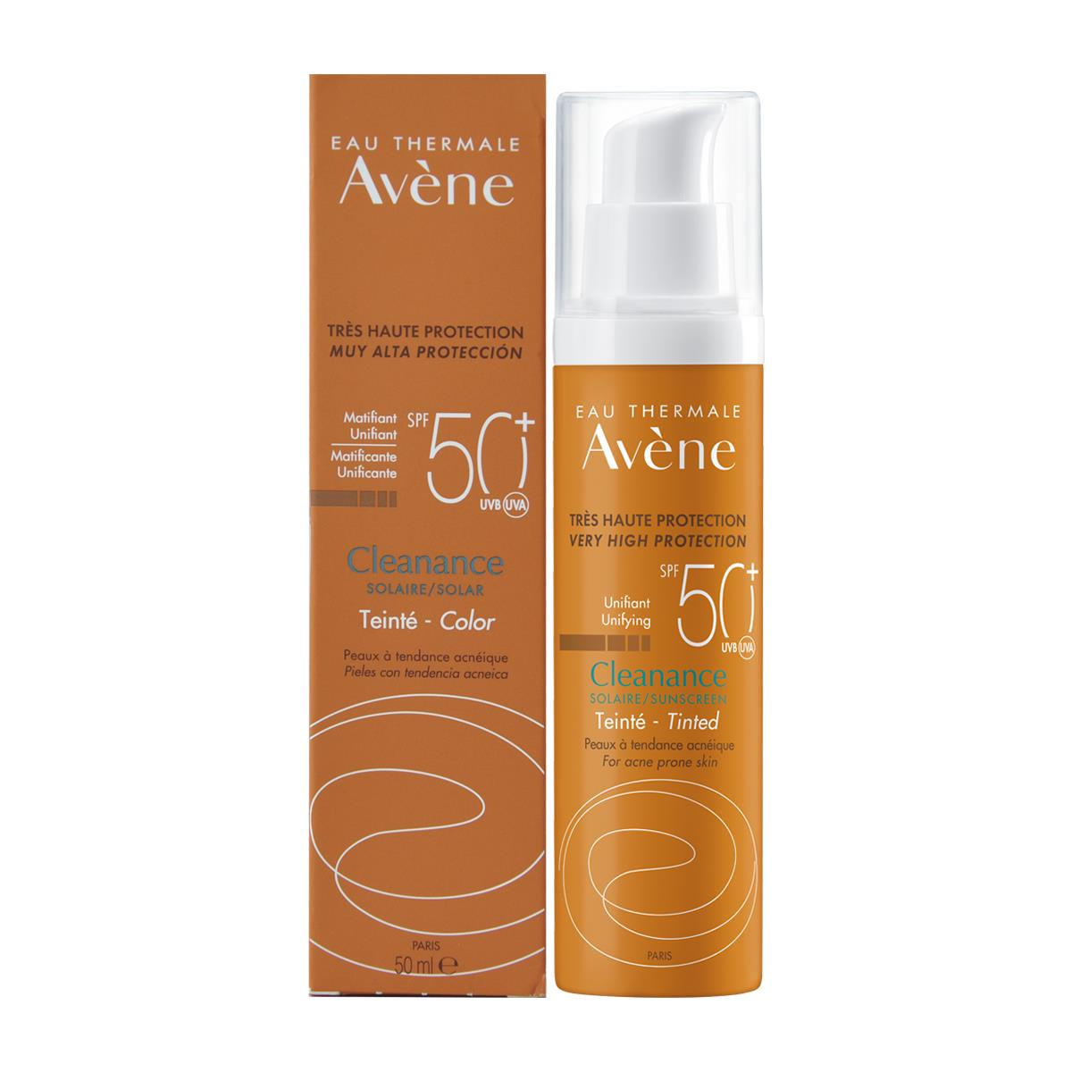 Avene Cleanance Fps50+ Con Color 50Ml