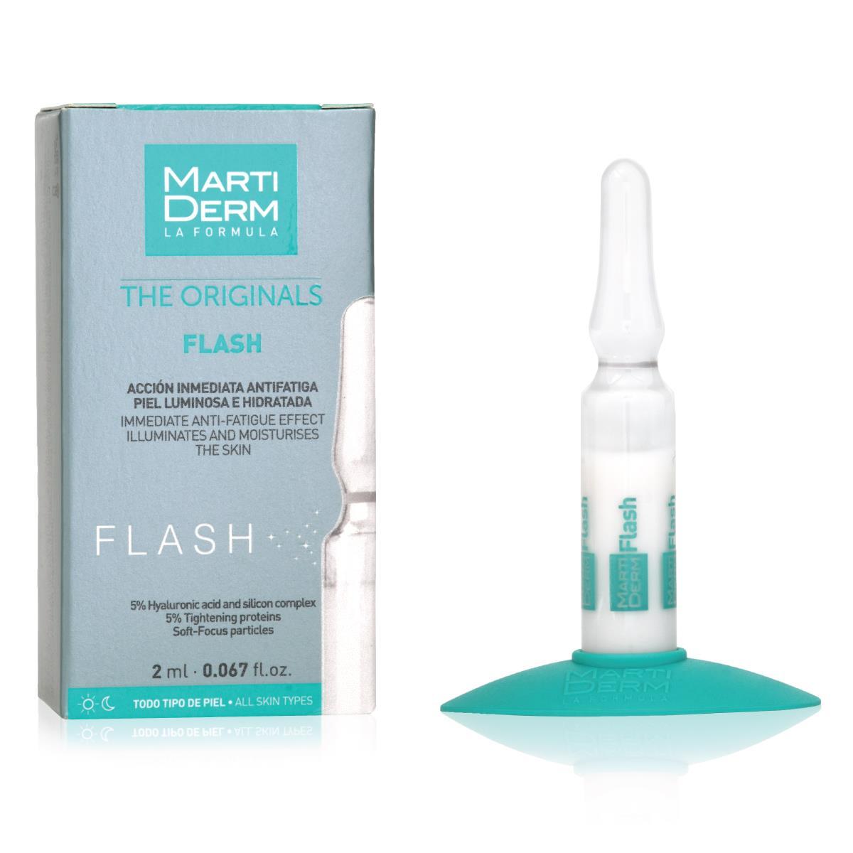 Martiderm Flash Caja Con 1 Ampolleta