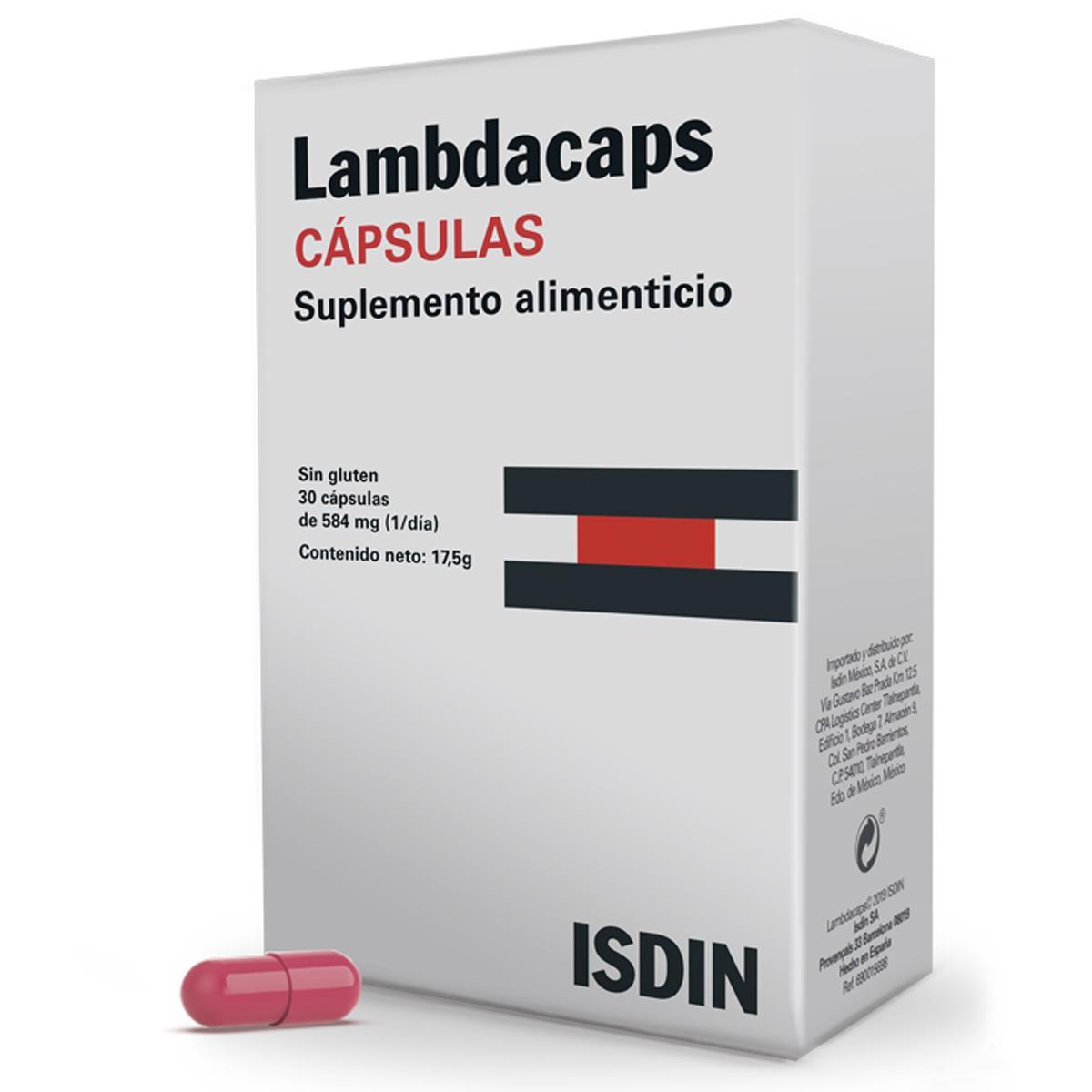 Lambdacaps Cápsulas Caja Con 30 Cápsulas