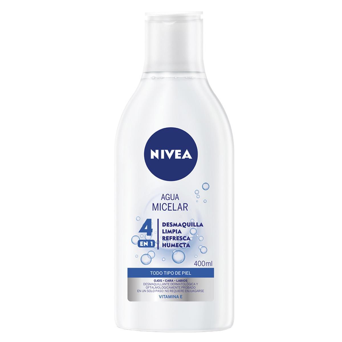 Agua Micelar Cara Y Ojos Desmaquillante 400Ml