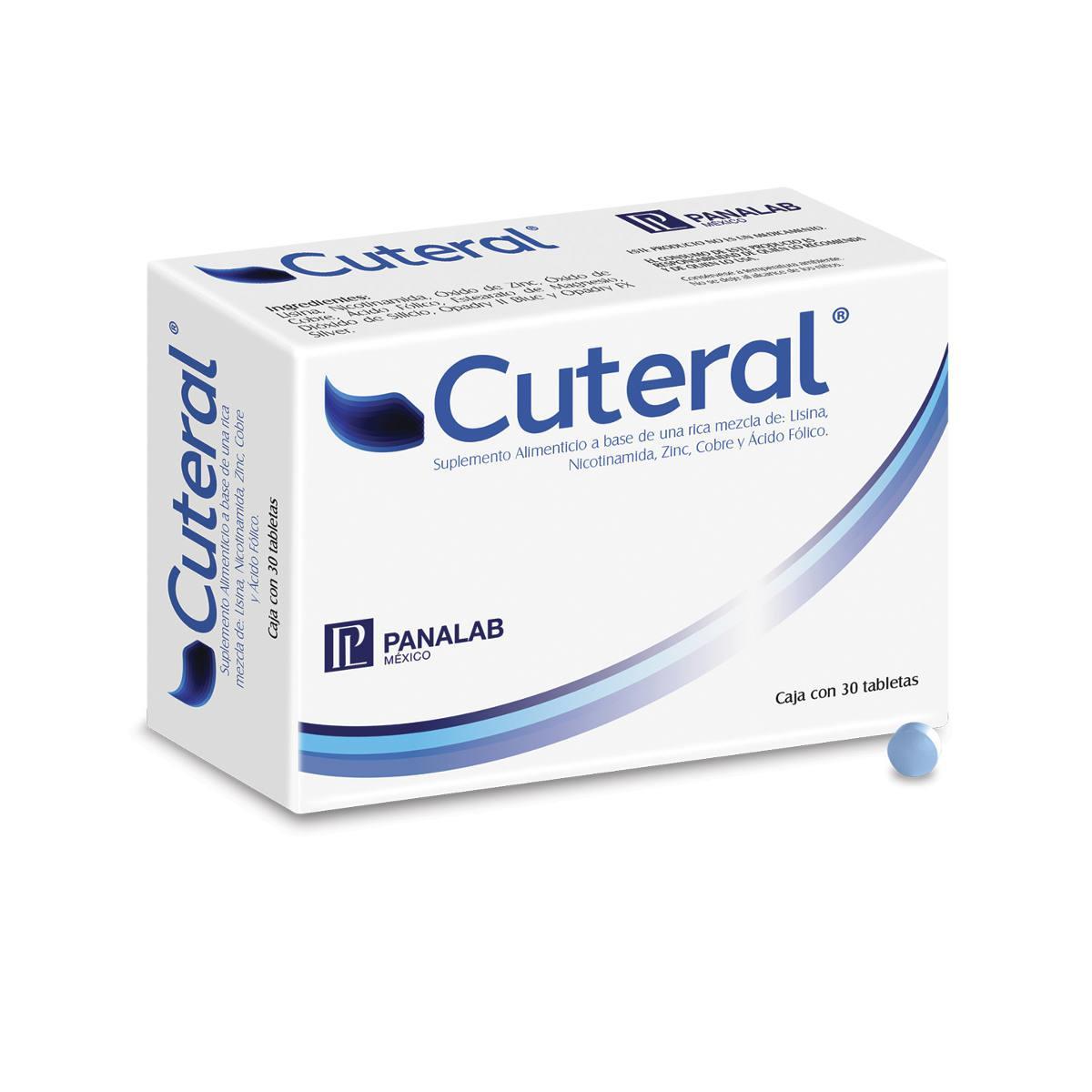 Cuteral Caja 30 Tabletas