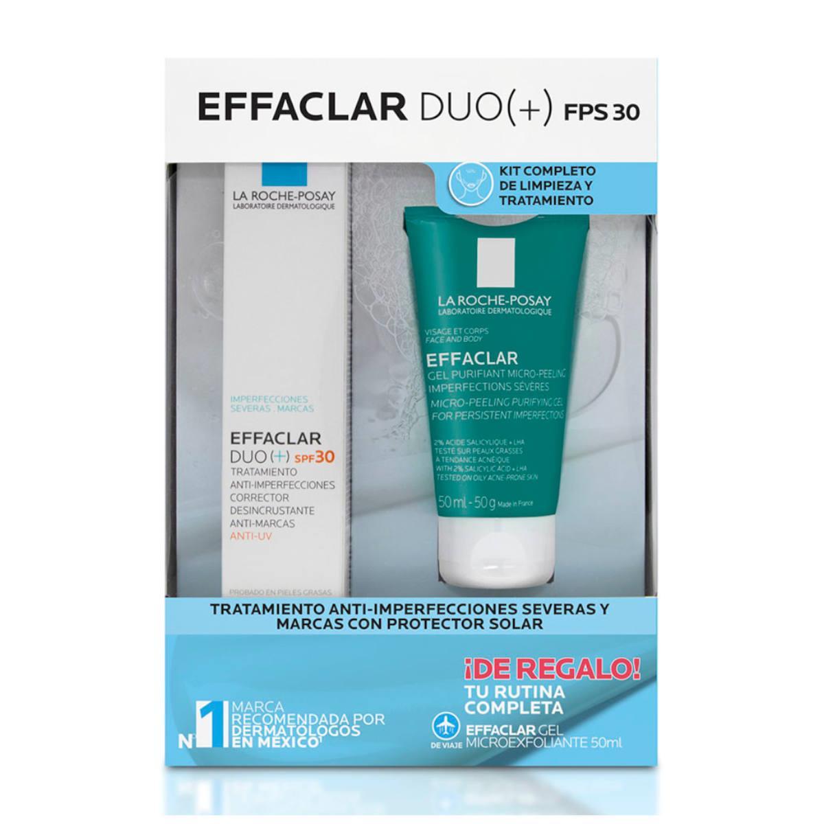 Pack Effaclar Duo(+) Fps 40Ml + De Regalo Formato De Viaje 50M