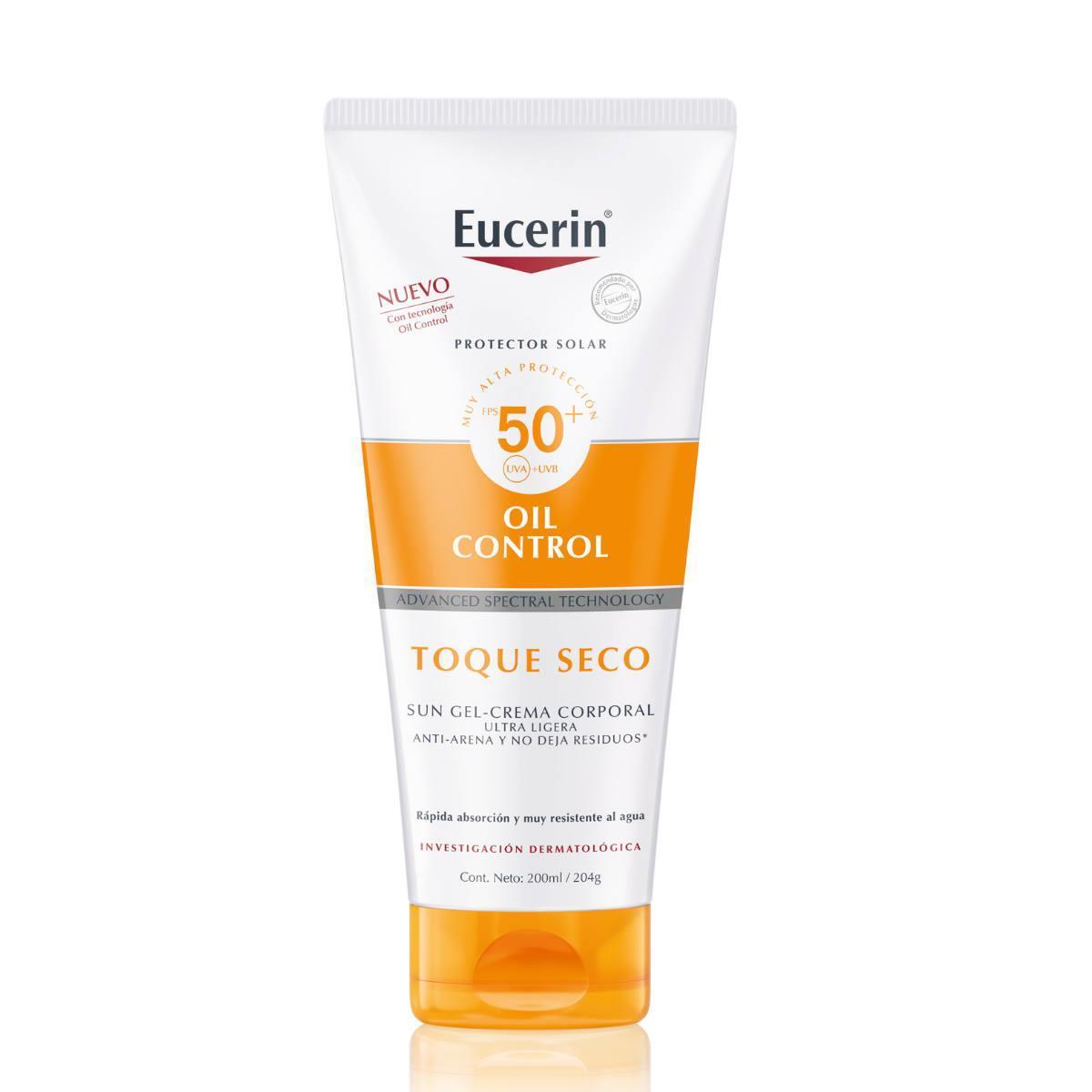 Eucerin Sun Oil Control Toque Seco Corporal 200Ml