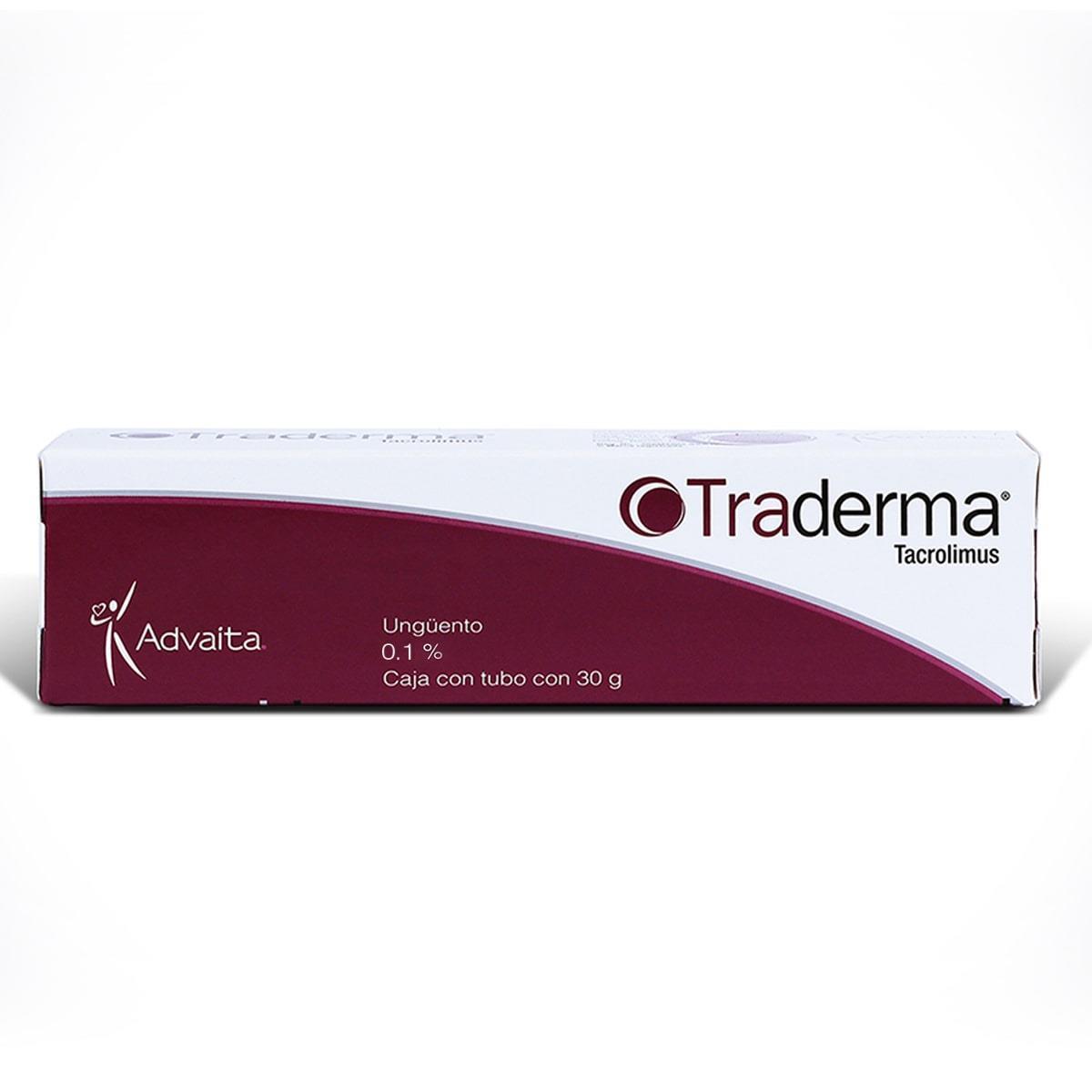 Terapia de segunda línea a corto o largo plazo de forma intermitente en el tratamiento de pacientes con Dermatitis Atópica de moderada a severa, o para quienes el uso de la terapia convencional es inadmisible debido a su riesgo potencial, o la respuesta escasa de tratamiento.<br/><br/>Caja con 30g de ungüento al 0.1%